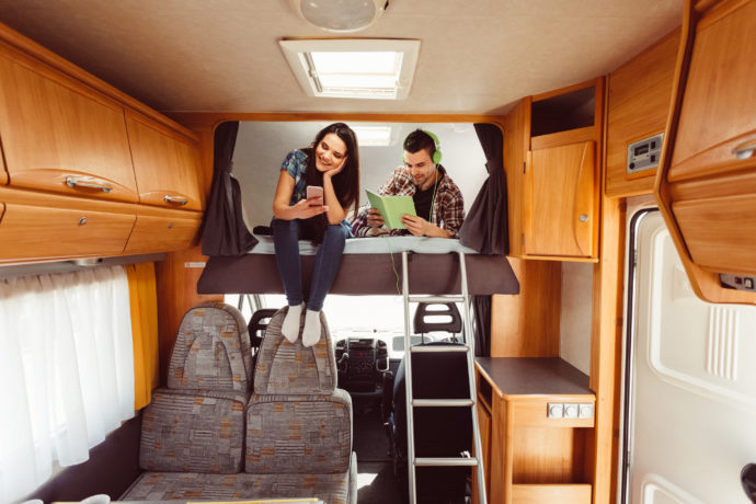 Tips and Tricks for Small Space Living in an RV