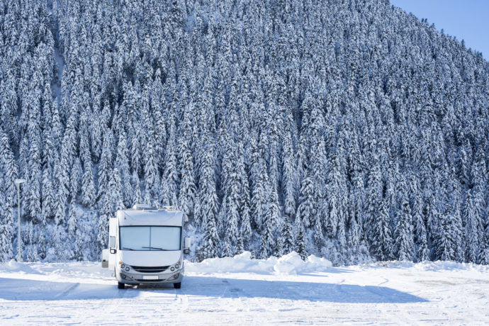 Winter RV Wonderland: Protecting Your RV from Heat Loss