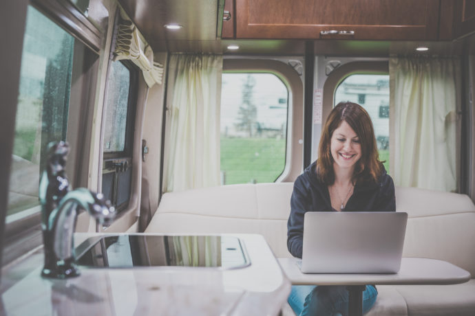 Staying Connected on the Road