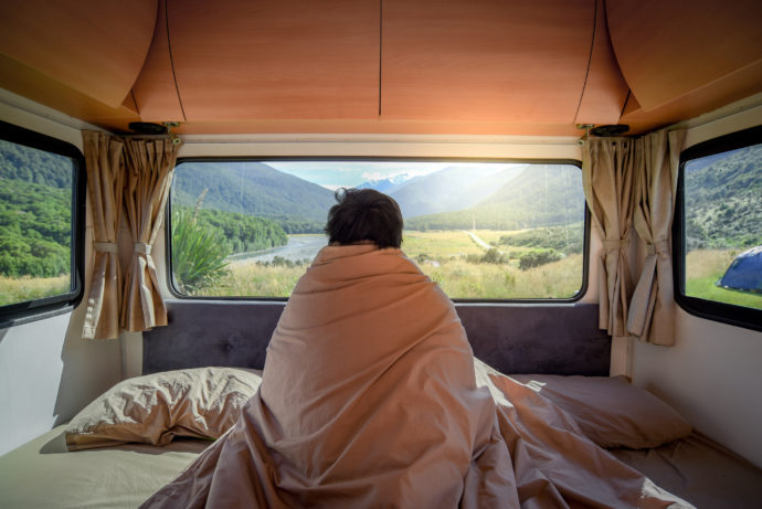 How to Stay Nice and Cozy in Your RV