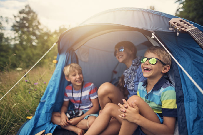 Dazzle the Kids: Tips for Taking Your Children Camping